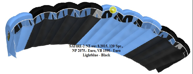 SAFIRE-2 NZ aus 8.2015, 120 Spr., 